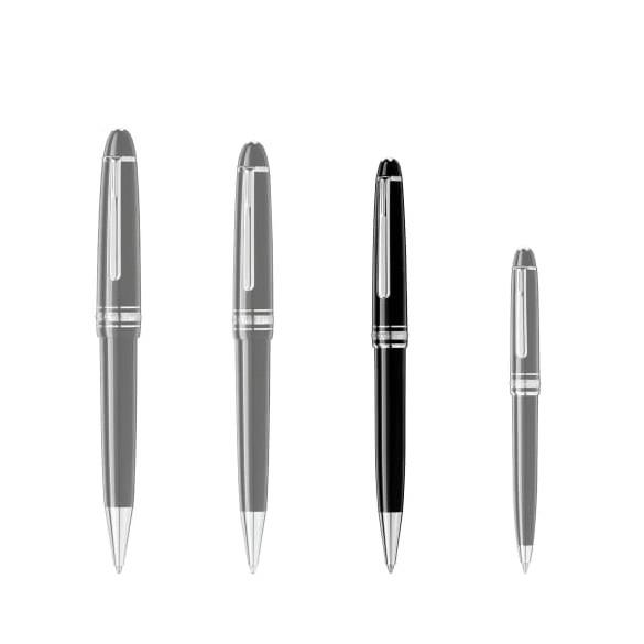 Penna a sfera Meisterstuck Platinum Classique - Confronto dimensioni